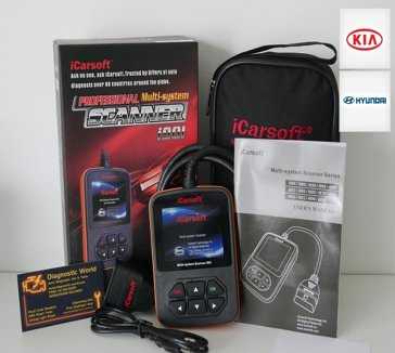 iCarsoft i901 Kia Hyundai Diagnostic World Diagnostic Tool engine abs airbags 1