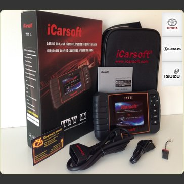 iCarsoft TYT II 2 Toyota Lexus Diagnostic World UK