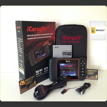 iCarsoft RT II 2 Renault Dacia Diagnostic World UK