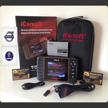 iCarsoft VOL II 2 Volvo & Saab Diagnostic World UK Pro Diagnostics 1