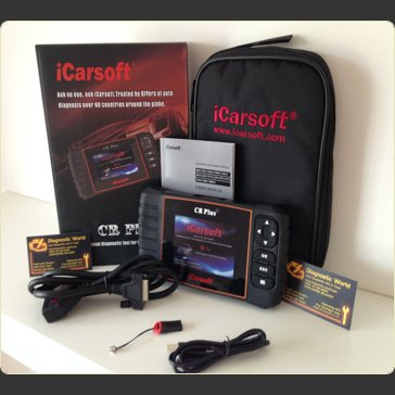 iCarsoft CR Plus Diagnostic World UK Pro Diagnostics 2