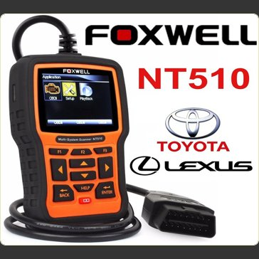 Toyota Lexus Engine ABS Airbags Service Foxwell NT510
