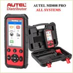 Autel MD808 Pro Diagnostic World Engine abs airbags dpf battery steering angle epb 12